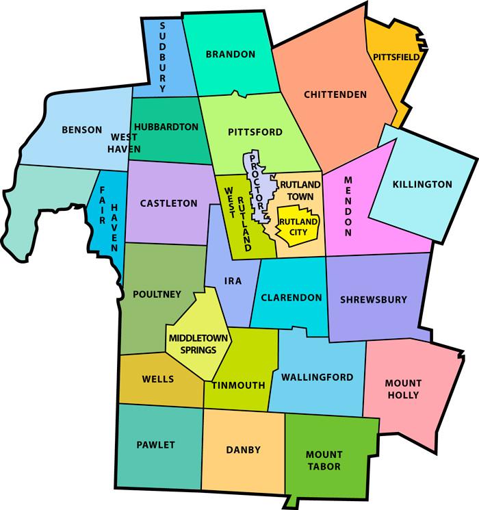 Rutland County towns