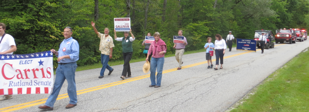 Chittenden Day parade
